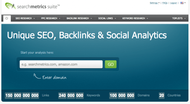 Searchmetrics SEO Suite