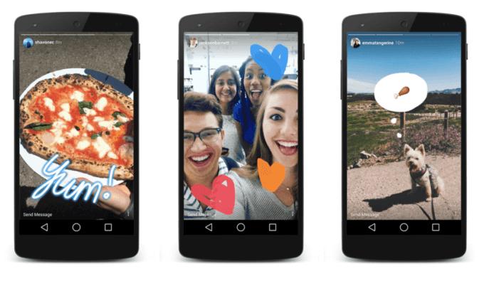 Instagram Stories - like Snapchat